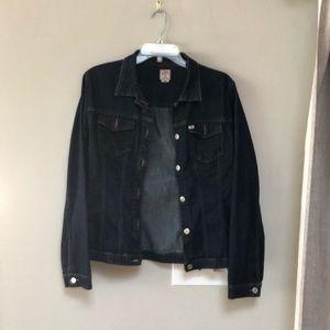 Denim jacket miss sixty size large